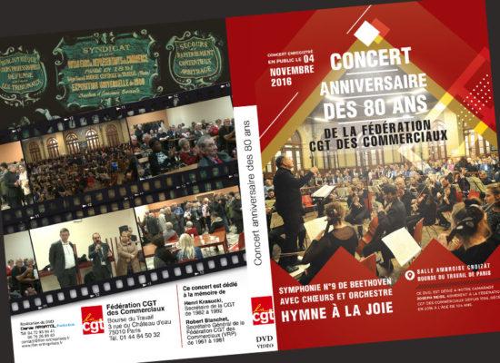 Création graphique CGT à Paris
