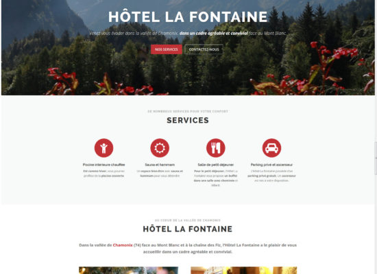 Webmaster wordpress - Graphiste freelance Chamonix