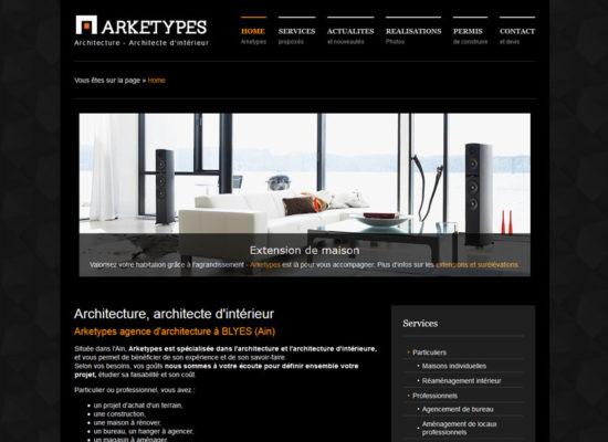 Création de site internet architecte dans l'Ain